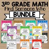 Find Someone Who Math Bundle