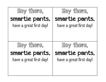 3rd Grade First Day of School