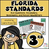 3rd Grade Florida Standards ELA Reading Literature and Informational Text