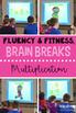 3rd Grade Fluency & Fitness Brain Breaks Bundle