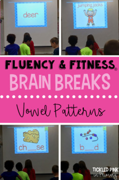 3rd Grade Fluency & Fitness® Brain Breaks BUNDLE