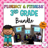3rd Grade Fluency & Fitness Brain Breaks Bundle