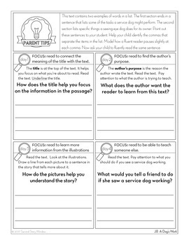 3rd Grade Fluency Passages • Reading Comprehension Passages and Questions Bundle