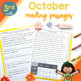 3rd Grade Fluency Passages for October