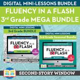 3rd Grade Fluency in a Flash MEGA bundle • Digital Mini Lessons
