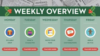 3rd Grade Fluency in a Flash SEASONAL GROWING bundle • Digital Mini Lessons