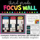 3rd Grade Focus Wall Bundle