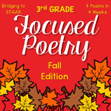 Focused Poetry 3rd Grade: Fall Edition
