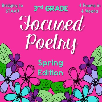 Focused Poetry 3rd Grade: Spring Edition