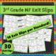 3rd Grade Fraction Math Bundle: 3rd Grade Fractions Curriculum MEGA Bundle