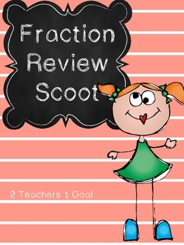 3rd Grade Fraction Review Task Cards