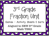 3rd Grade Fraction Unit
