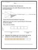3rd Grade Fraction Unit Test