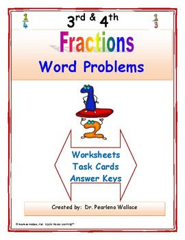 3rd Grade Fractions Word Problems Common Core Standards