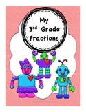 3rd Grade Fractions: ID, Creation, Place on Numberline, Pr