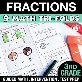 3rd Grade Fractions - 3.NF.1 - 3.NF.3