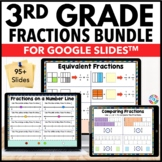 3rd Grade Fractions {3.NF.1, 3.NF.2, 3.NF.3} Google Classr