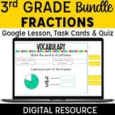 3rd Grade Fractions Digital Resources Bundle | Google Slid