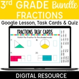 3rd Grade Fractions Digital Resources for Distance Learnin