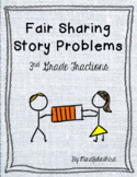 Fractions Fair Sharing Story Problems 3rd Grade
