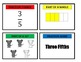3rd Grade Fraction Match-Up Game for Common Core