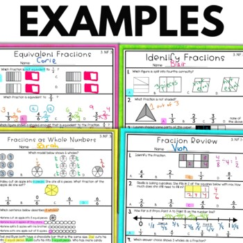 Fraction Worksheets | 3rd Grade Math Worksheets by The ...