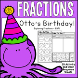 3rd Grade Fractions - Otto's Birthday (3.NF.1)