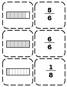 3rd Grade Fractions and Models Game