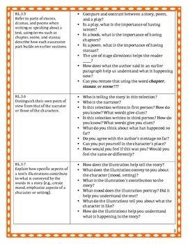 3rd Grade Free SAMPLE ELA Common Core Assessment Tasks and Questions