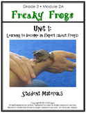 3rd Grade Frogs Module Printables:  Unit 1