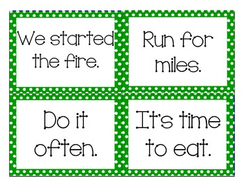 3rd Grade Fry Phrases Flashcards