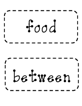 3rd Grade Fry Words- Word Wall