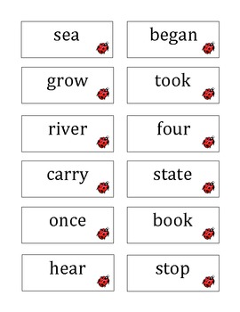 3rd Grade Fry's Third 100 Words for Posting