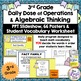 Math Vocabulary Wall Posters and PPT Slideshow 3rd Grade  602 pages of Materials