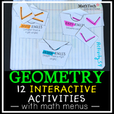 3rd Grade GEOMETRY Interactive Notebook
