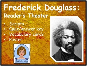 3rd Grade GPS Historical Figure Reader's Theater review for CRCT: F. Douglass