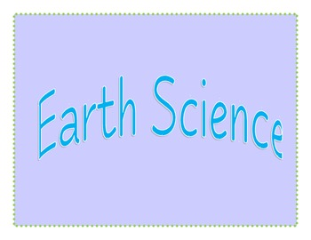 """3rd Grade GPS Science """"I Can"""" Statements"""