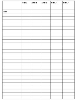 3rd Grade GSE Checklist - Math