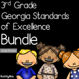 3rd Grade GSE Georgia Standards of Excellence Posters Bund