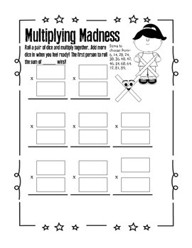 Math Games for 3rd Grade