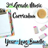 3rd Grade General Music Curriculum: Year-Long Bundle