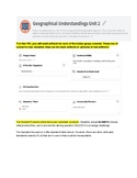 3rd Grade Geographical Understandings 1 PBL