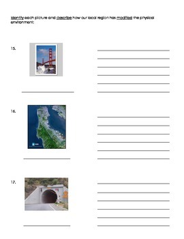 3rd Grade Geography Assessment