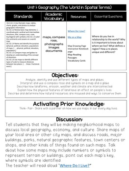 3rd Grade Geography Lesson Plans