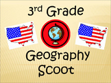 3rd Grade Geography Review Scoot