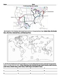 3rd Grade Geography and Map Skills Assessment