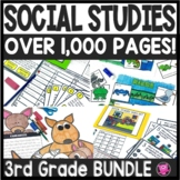 3rd Grade Geography and Social Studies Unit Bundle
