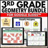 3rd Grade Geometry Bundle {3.G.1 and 3.G.2} Google Classroom