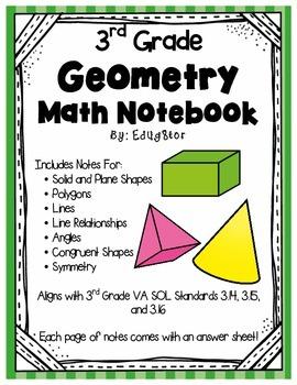 Geometry Math Notebook