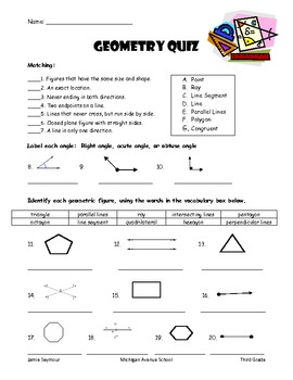 Lesson 10 tools of geometry unit test answers